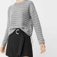 Braided cord sweater - Women | MANGO USA
