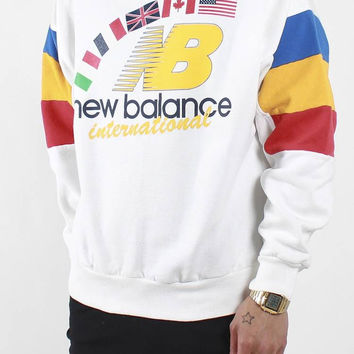 Vintage New Balance Culture Crewneck Sweatshirt Sz M – F As In Frank Vintage