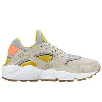 Nike Air Huarache Run – Metallic Silver / Sunset Glow