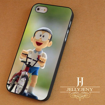 Nobita cycling iPhone 4 5 5c 6 Plus Case | iPod 4 5 Case