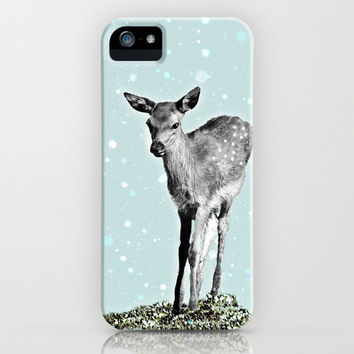 CUTE FAWN BAMBI ***  iPhone Case by M✿nika  Strigel	 | Society6 for iPhone 5 + 4 S + 4 + 3 GS  + 3 G + skins + pillows + poster ***