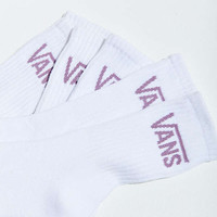 Vans Basic Crew Sock 3-Pack | Urban Outfitters