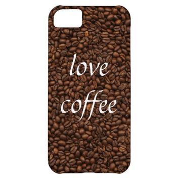 Love Coffee - Pile of Beans iPhone 5C Case / Cover