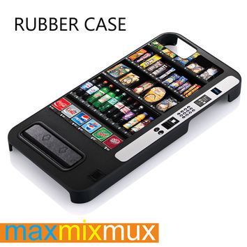 Vending Machine iPhone 4/4S, 5/5S, 5C, 6/6 Plus Series Rubber Case