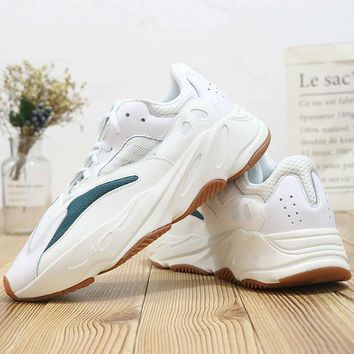 HCXX A400 Adidas Yeezy Boost 700 Ratro Casual Running Shoes White Green
