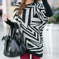 Fashion Loose Bat Shirt Sweater