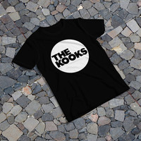 "THE SAMPLE size of the print image on the T-Shirt 12""x12"" The Kooks"