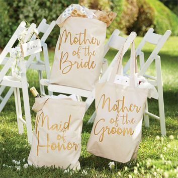 Wedding Canvas Totes