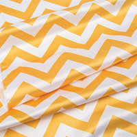 Yellow Chevron Table Runner