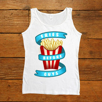 Fries Not Guys -- Women's Tanktop