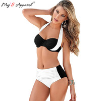 High Waist Push Up Bikini Set Swimwear