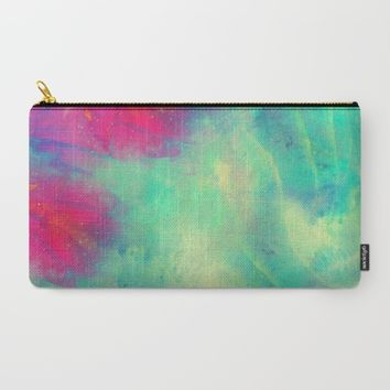 Sky Flower Carry-All Pouch by Adaralbion