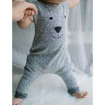Newborn Winter Cute Toddler Baby Girl Boy Bear Jumpers Outfits Clothes