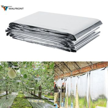 210x120cm Agricultural Double Sides PET Reflective Mylar Film Greenhouses Fruit Trees Apple Grapes Increasing Temperature Light
