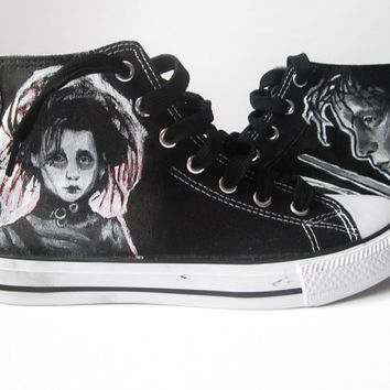 On Sale Personalized Handpainted Shoes From Madcandies On Etsy