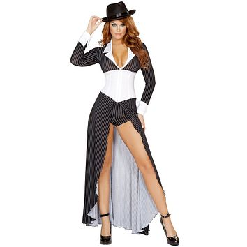 Goombah Mafia Girl Halloween Costume