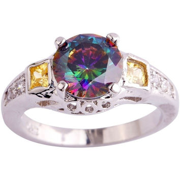 NEW FASHION CHAMPAGNE PARTY JEWELRY FOR WOMEN RINGS IN SIZE 6 7 8 9 10