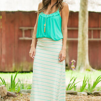 Just My Imagination Maxi Skirt