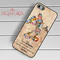 Quote Walt Disney - z321z for iPhone 6S case, iPhone 5s case, iPhone 6 case, iPhone 4S, Samsung S6 Edge
