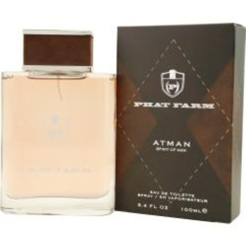 Atman Spirit Of Man By Phat Farm Aftershave Balm 4.2 Oz