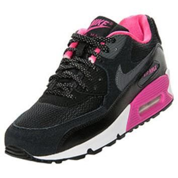 Girls' Grade School Nike Air Max 90 Running Shoes
