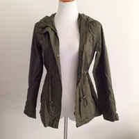 Olive Spring Jacket from ootdfash
