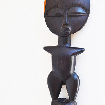 Fertility doll, Fertility statue / hand-carved doll, Akuaba Ashanti