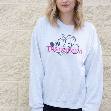 Minnie Disneyland Sweatshirt