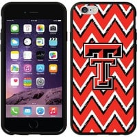 Coveroo, Inc. Texas Tech Red Raiders Sketchy Chevron iPhone 6 Switchback Snap-On Case 786-8369-BK-FBC (Txt Team)