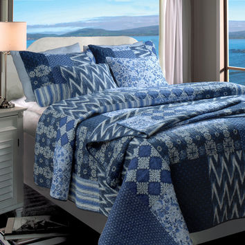 Greenland Home Fashions Santorini Bedding Collection