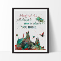 Hogwarts Quote, Harry Potter