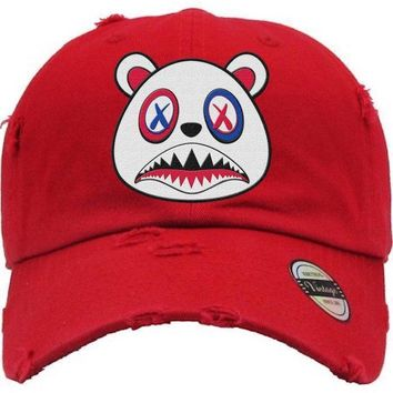 USA Baws Red Dad Hat