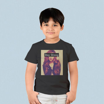 Kids T-shirt - Demi Lovato Stay Strong
