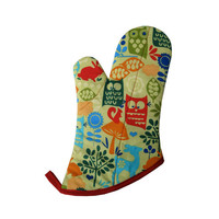 Forest Friends Oven Mitt by collisionware on Etsy