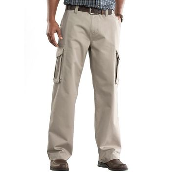 SONOMA life + style Relaxed-Fit Twill Cargo Pants