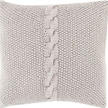 Classic Cable Knit Pillow