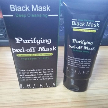 high quality Shills purifying blackhead remover deep cleansing black mask peel off mud nose mask Peel-off Black Mask