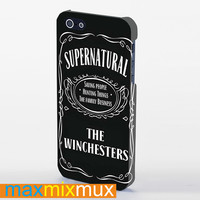 Supernatural The Winchester iPhone 4/4S, 5/5S, 5C Series Full Wrap Case