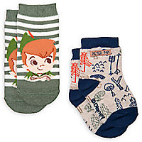 Peter Pan Sock Set for Baby - 2-Pack