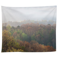 Misty Mornings Tapestry