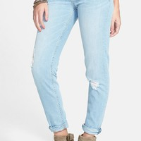 Junior Women's STS Blue 'Joey' Boyfriend Jeans (Light Wash)