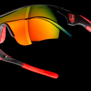 "Polarized Sport Wraparound High-Tech Sunglasses ""Fusion-POL"""