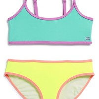 Girl's Billabong 'Sol Searcher' Two-Piece