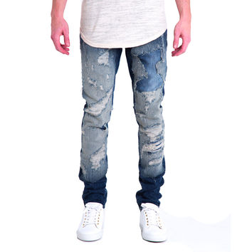 Amazon Repaired Denim Jeans