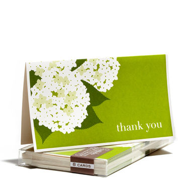 Hydrangea Gratitude Boxed Notecards