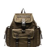 Walter Backpack Green in Vibrant Olive