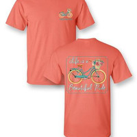 Sassy Frass Tee Life's a Beautiful Ride on Comfort Colors