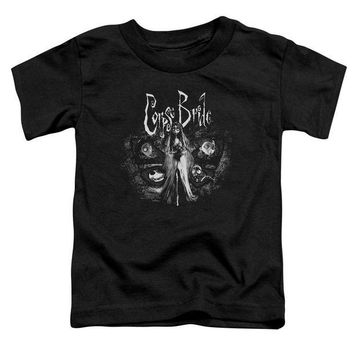 ac NOOW2 Corpse Bride - Bride To Be Short Sleeve Toddler Tee