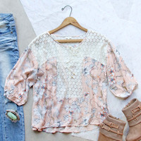 January Bloom Blouse