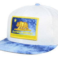 Official Cali Acid Wash Visor Snapback Hat